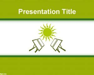 Renewable Energy Presentation Templates Creative Market